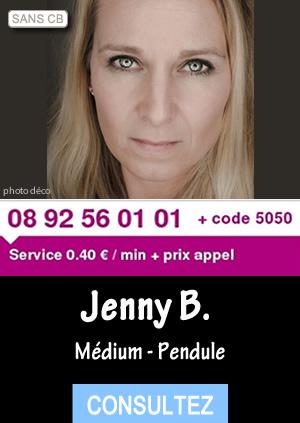 a610a507f92549 Jenny fait partie de mon équipe depuis plusieurs années maintenant. Elle  possède un vrai talent divinatoire dont elle a pris conscience dans  l enfance.