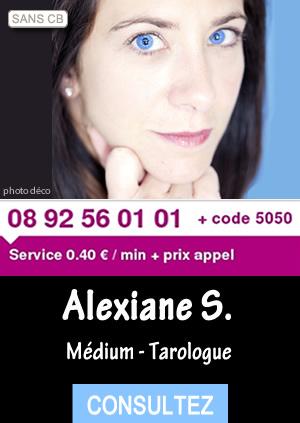 908c6bc56c08cd Par téléphone sans CB ou en privé, Alexiane S. vous livre une voyance de  grande qualité. Son intuition est fabuleuse et se révèle toujours juste. Les  ...